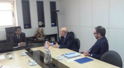 The Foreign Investment Promotion Agency, FIPA-Tunisia received Mr Paolo SANNELLA and Mr Stefano AZZALI