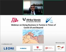 Webinar: Doing Business in Tunisia in Times of COVID-19 and Beyond