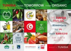 Participation Tunisienne au Salon Alimentaria 2016