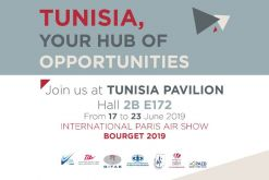 Participation tunisienne au Salon International de l'Aéronautique et de l'Espace (SIAE) du 17 au 23 juin 2019, au Bourget à Paris.