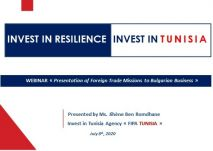 « FIPA-Tunisia » participe au Webinaire Presentation of Foreign Trade Missions to Bulgarian Businesses